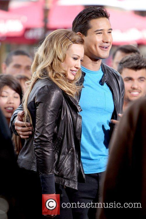 Hilary Duff and Mario Lopez 8