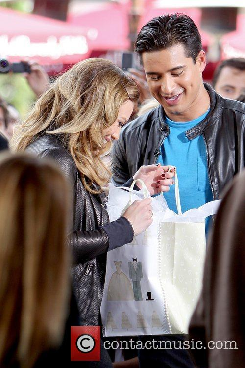 Hilary Duff and Mario Lopez 4