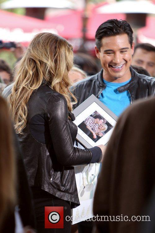 Hilary Duff and Mario Lopez 1