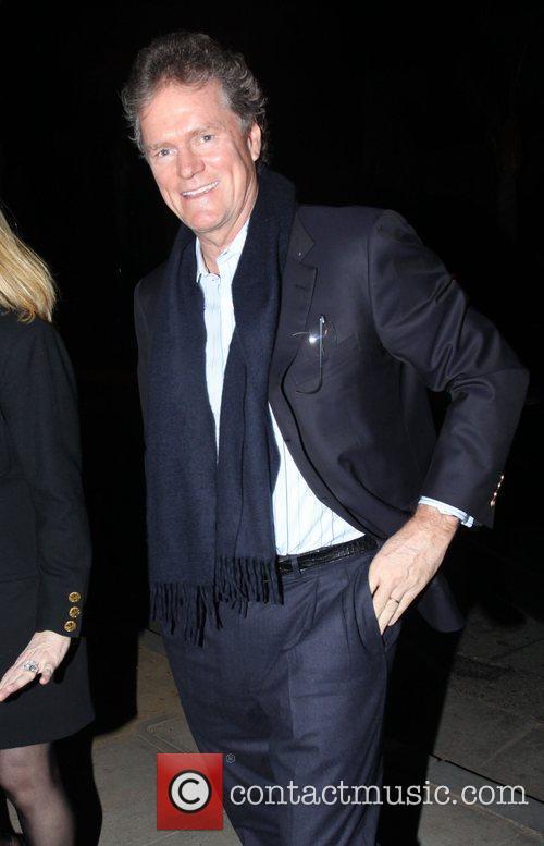 Rick Hilton arrives at Dan Tanas restaurant to...