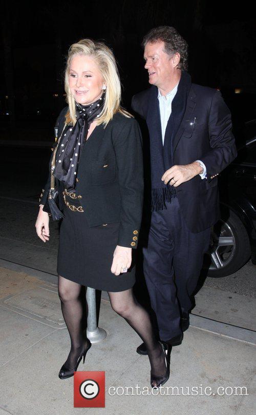 Rick Hilton and Kathy Hilton arrive at Dan...