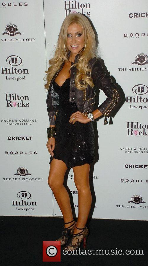 Claudine Keane Celebrities at the launch of the...