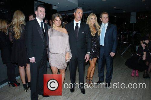 Coleen Rooney and Claudine Keane  at the...
