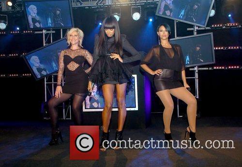 Heidi Range, Jade Ewen and Amelle Berrabah of...