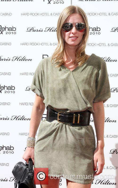 Socialite Nicky Hilton  arrives to host 'Rehab'...