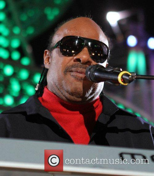 Stevie Wonder Holiday Tree Lighting