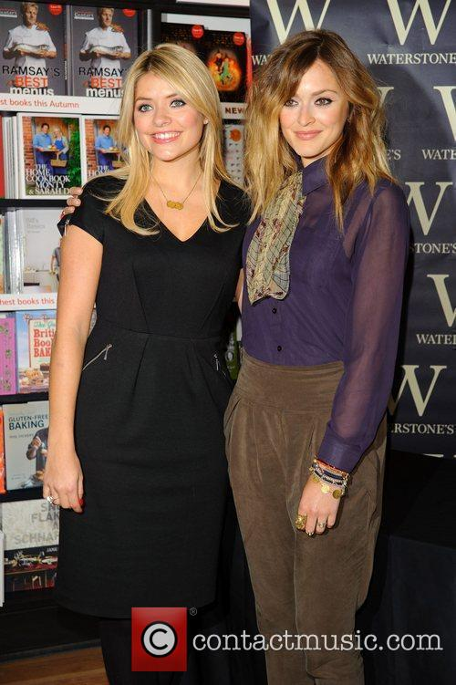 Fearne Cotton and Holly Willoughby attend a book...