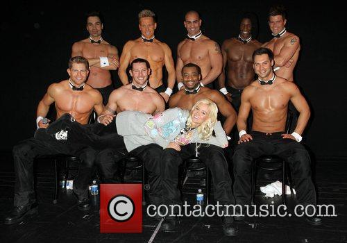Visits The Chippendales Show at the Chippendales Theater...