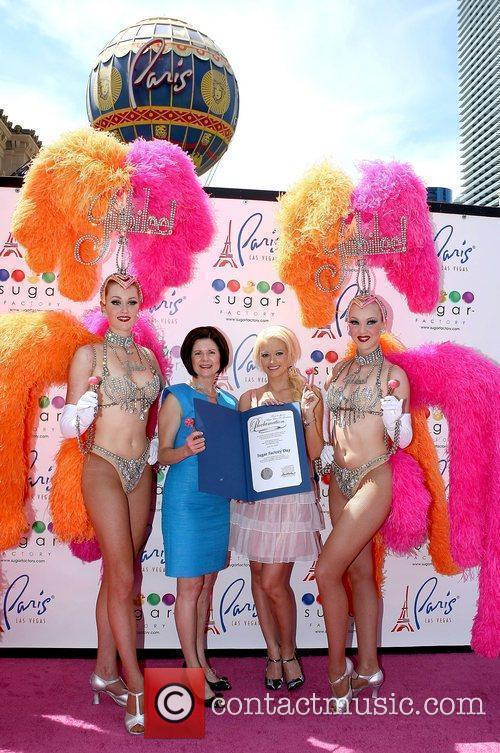 Holly Madison, Marilyn Winn and Jubilee Girls 'Peepshow'...