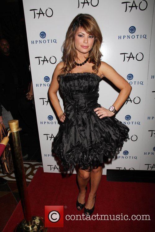 Holly Madison celebrates her birthday at TAO Nightclub...