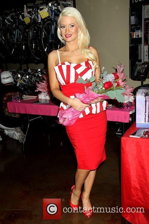 Holly Madison kicks-off 'Holly Jolly Christmas Toy Drive'...