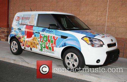 Holly Madison kicks-off 'Holly Jolly Christmas Toy Drive'...