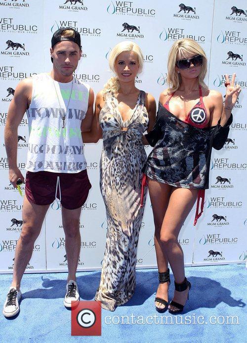 Josh Strickland, Holly Madison and Angel Porrino All-American...