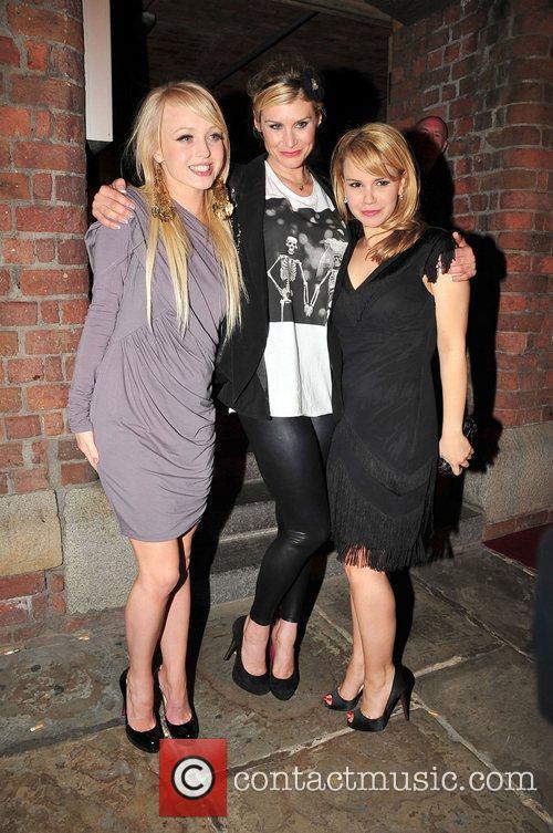 Jorgie Porter, Kim Tiddy and Jessica Fox enjoy...