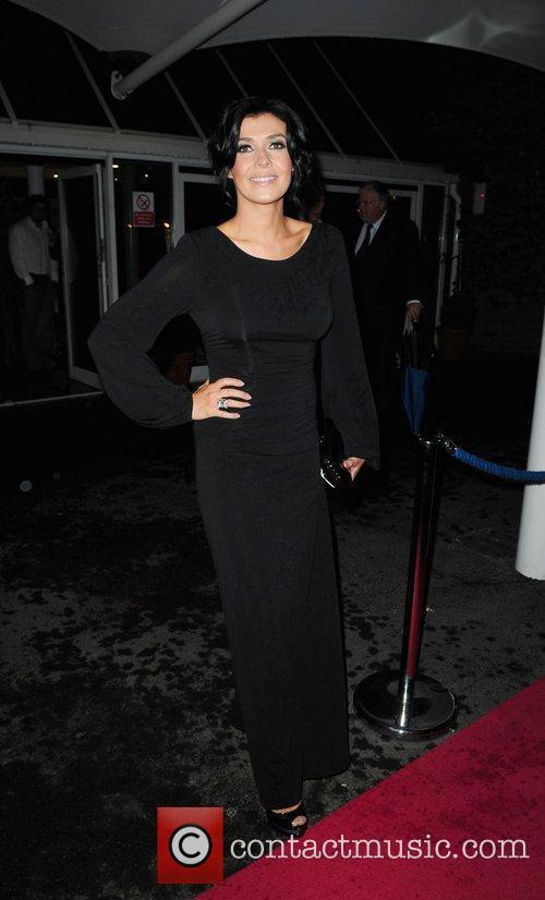Kym Marsh  Hollyoaks Charity Ball held at...