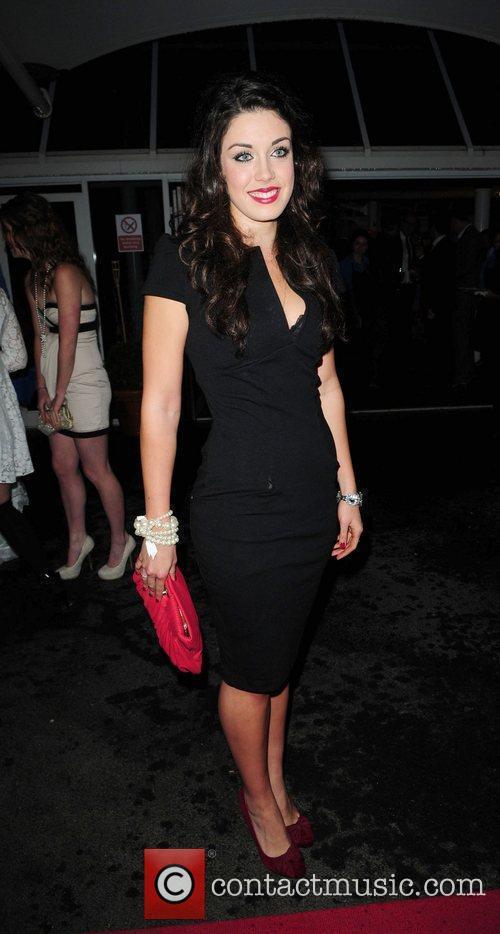 Bianca Hendrickse Hollyoaks Charity Ball held at Chester...