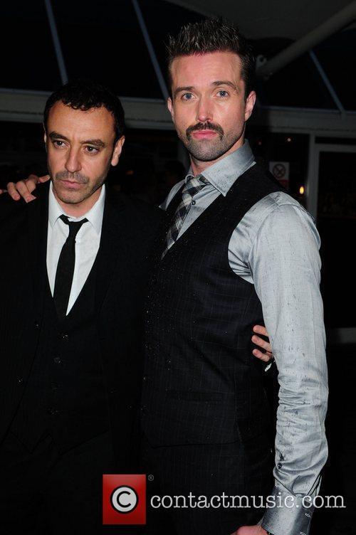 Gary Coghill and Emmett Scanlan Hollyoaks Charity Ball...