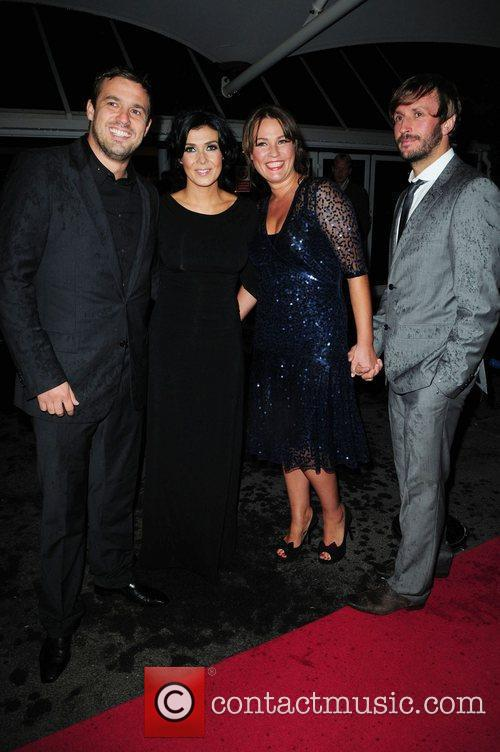 Jamie Lomas Kym Marsh and guests Hollyoaks Charity...