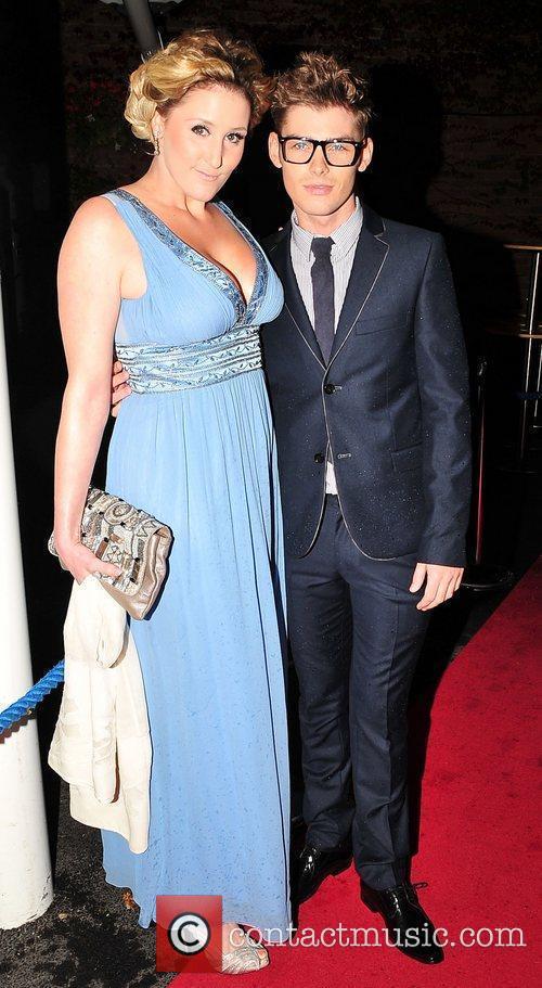 Kieron Richardson and Bronagh Waugh Hollyoaks Charity Ball...