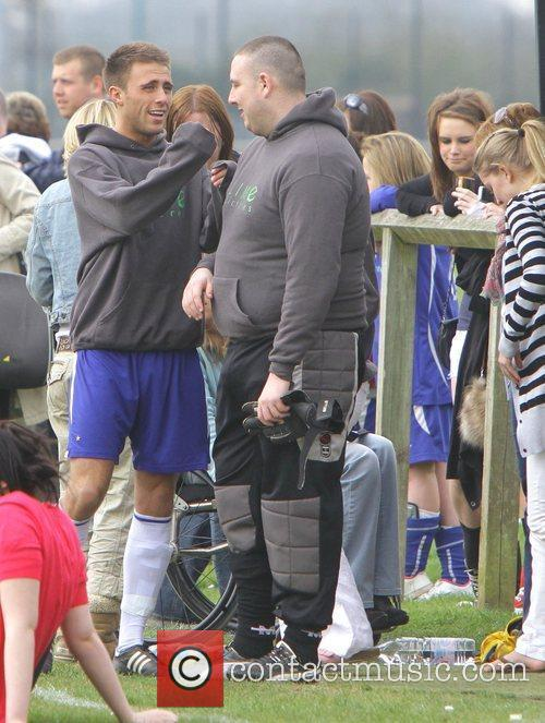 Guest Charity football match, Hollyoaks v's HQ coaching...