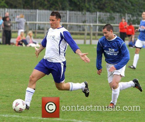 Nick Pritchard Charity football match, Hollyoaks v's HQ...