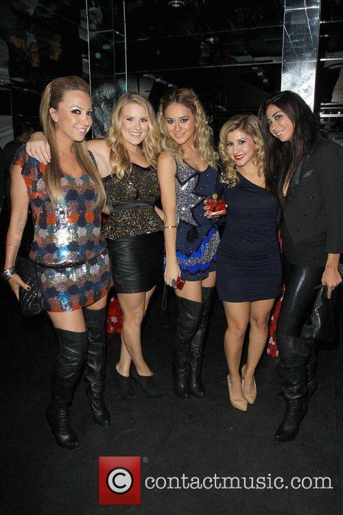 Hollyscoop girls, Diana Madison, Bridget Daly, Nora Gasparian,...