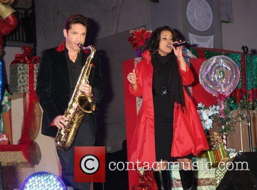 Dave Koz and Kimberly Locke Hollywood & Highland...