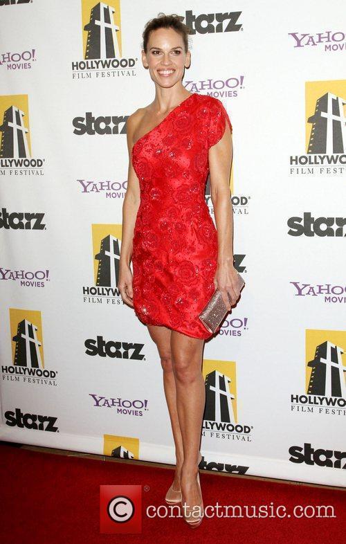 Hilary Swank  14th Annual Hollywood Awards Gala...
