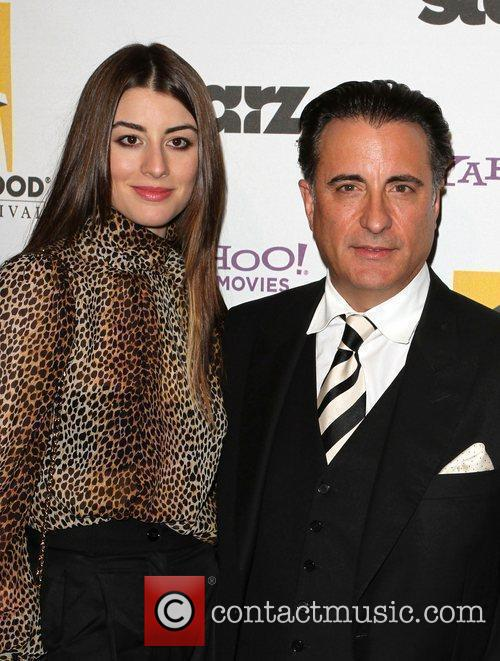 Andy Garcia and Dominik Garcia-lorido 1