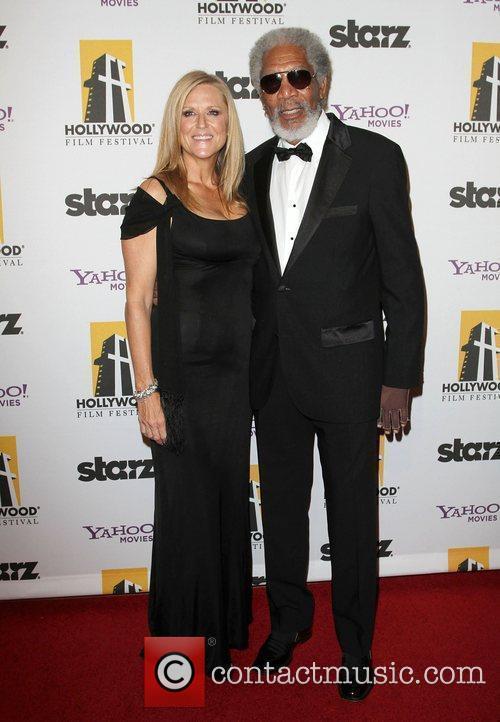 Lori Mccreary and Morgan Freeman 3