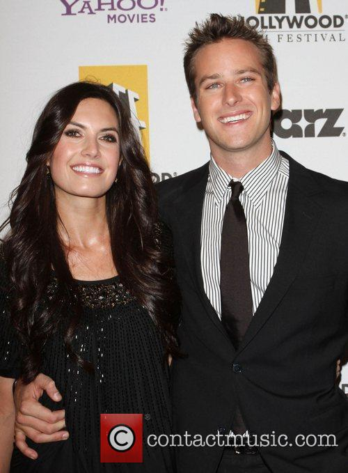 Armie Hammer and Guest 14th Annual Hollywood Awards...