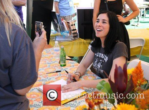 Sarah Silverman at the West Hollywood Book fair