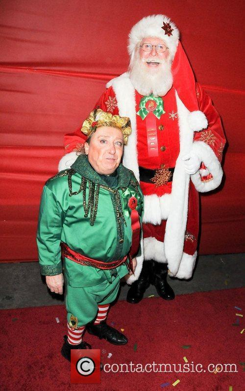 Santa Clause and his Elf  The Hollywood...