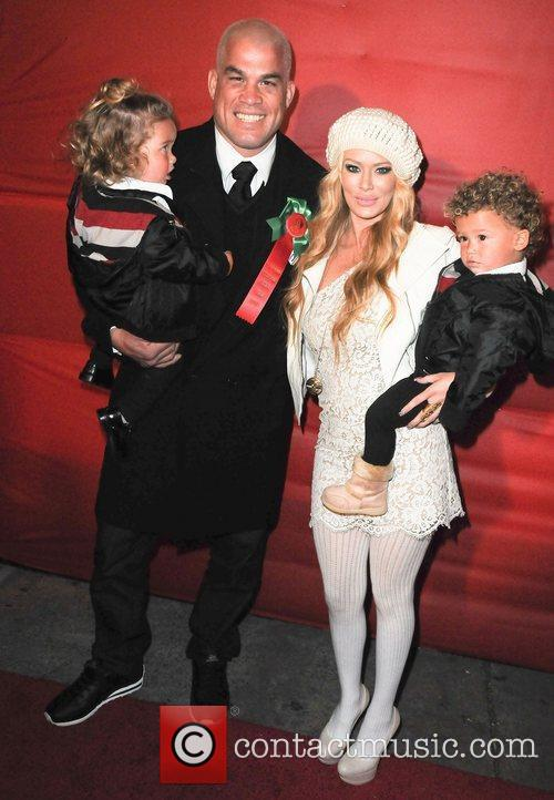 Jenna Jameson , Tito Ortiz and 2 sons...