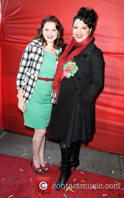 Sara Drew and Sarah Ramirez  The Hollywood...