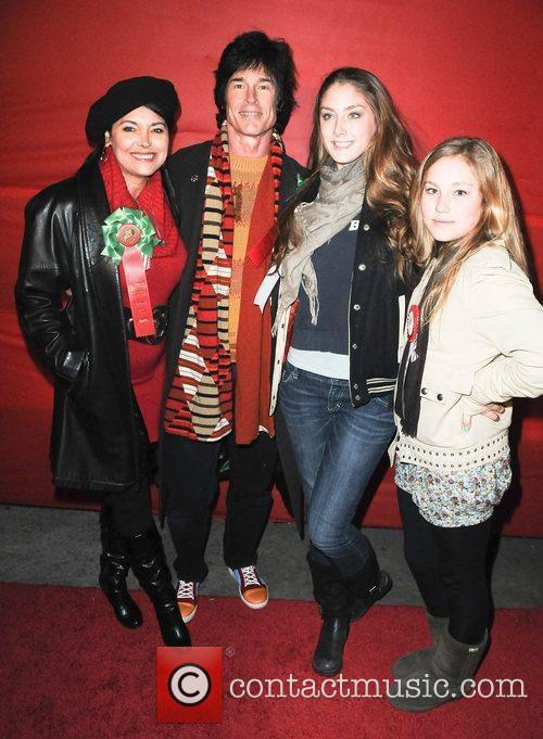 Devin and Ronn Moss with daugters Creason and...