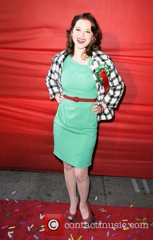 Sarah Drew  The Hollywood Christmas Parade held...