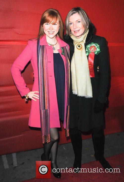Susan Sullivan and Molly Quinn  The Hollywood...