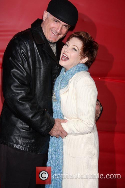 Carolyn Hennesy and her husband The Hollywood Christmas...
