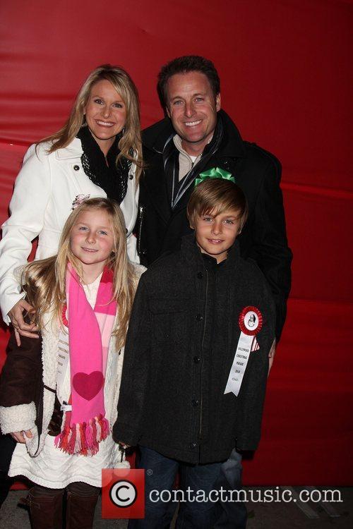 Chris Harrison & Family The Hollywood Christmas Parade...