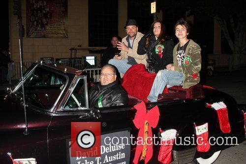 David DeLuise, Maria Canals Barrera and Jake T....