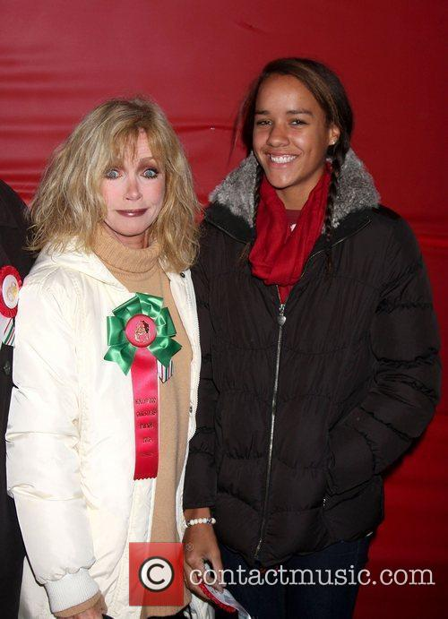 Donna Mills with daughter Chloe The Hollywood Christmas...