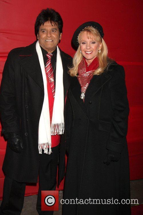 Erik Estrada and Laura McKenzie The Hollywood Christmas...