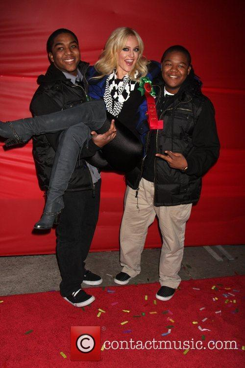 Chris Massey, Lacey Schwimmer and Kyle Massey The...
