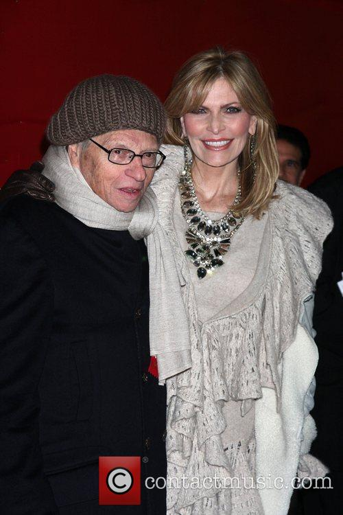 Larry King and Shawn Southwick The Hollywood Christmas...