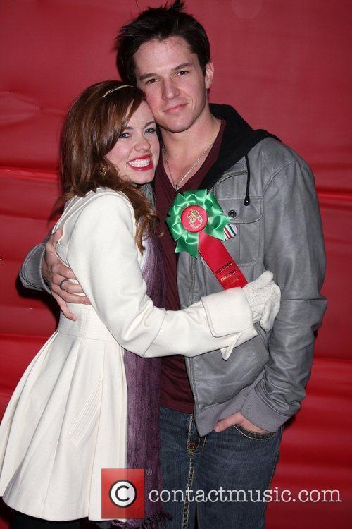 Molly Burnett and Mark Hapka The Hollywood Christmas...