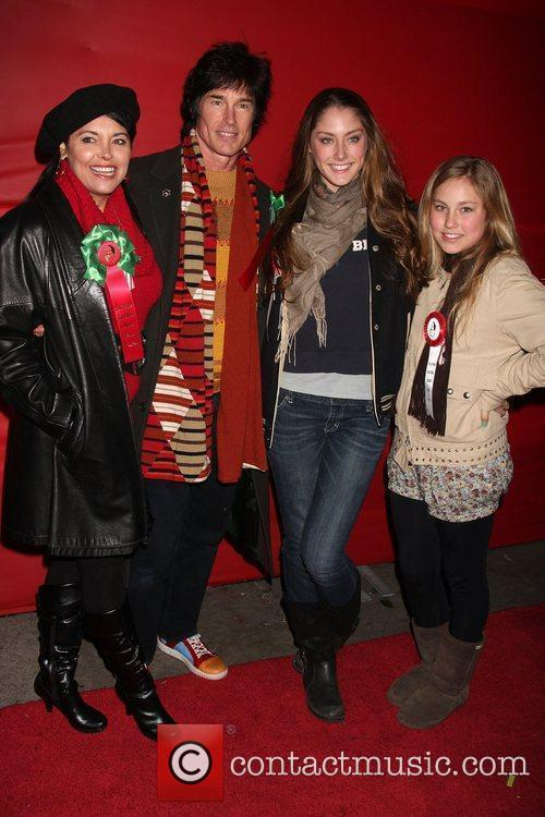 Devin Moss and Ronn Moss with his daughters...