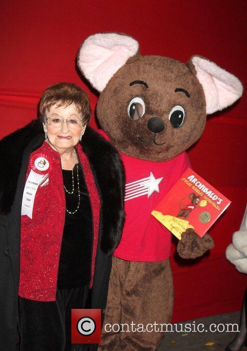 Sylvia Lieberman with Archibald Mouse The Hollywood Christmas...