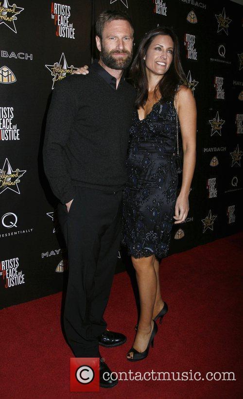 Aaron Eckhart 3rd Annual Pre-Oscar Hollywood Domino Gala...