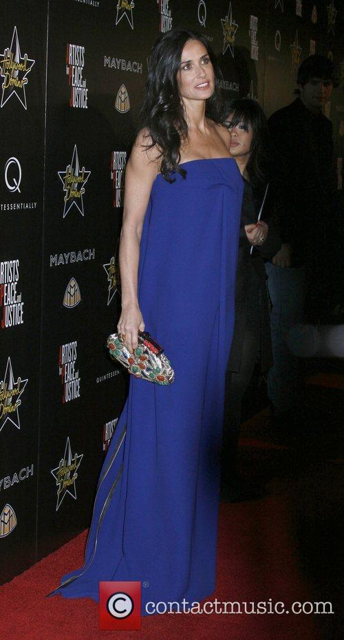 Demi Moore 3rd Annual Pre-Oscar Hollywood Domino Gala...